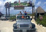 Private Jeep Excursion in Cozumel with Lunch and Snorkeling