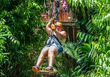 Central America - Belize: Xunantunich Cave Tubing and Zip line triple tour from Placencia