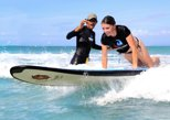 Professional Surfing Lessons at La Pared Beach in Luquillo