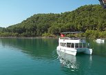 Cabrio Bus and Green Lake Catamaran Cruise From Side