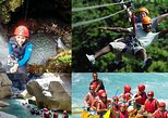Rafting Canyoning and Zipline Adventure from Kemer