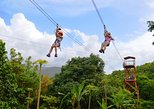 Zipline Canopy and El Yunque Rainforest Hiking Combo Tour