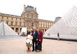 Sainte Chapelle, 'Ile de la cité', Louvre Museum and Montmartre Private Day Tour