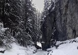 Winter Canadian Rockies Canyon Hike