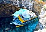 Comino Island: including Blue Lagoon, Crystal Lagoon & caves