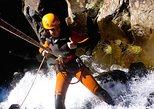 Canyoning in Ribeira das Cales