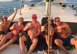 Sunset Catamaran Tour with Open Bar at Flamingo Beach