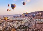 Hot Air Balloon Flight over Cappadocia at Sunrise