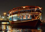 Delicious & Romantic Dubai Dhow Cruise Creek Dinner