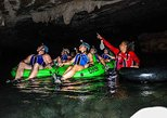 Xunantunich Cave Tubing and Zipline triple tour from San Pedro Ambergris Caye