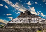 Central America - Belize: Xunantunich Temples and Jungle Pontoon Waterfall Adventure