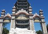 Danang tour of Marble mountains, Linh Ung Pagoda, Paracel Exhi-House, war museum