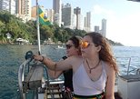 Boat trip to the sunset on the waterfront of Salvador