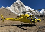 Everest private helicopter tour for 2 pax with landing at base camp & breakfast