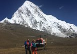Everest helicopter landing tour in Sharing charter chopper on certain dates
