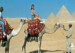 Day Tour To Giza Pyramids With Camel Ride And Egyptian Museum in Cairo