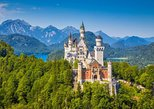 Top Bavarian Sightseeing: Neuschwanstein, Linderhof, Oberammergau and Wieskirche
