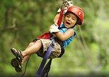 Private mega combo adventure tour Canopy Horseback Ride Water Slide and Natural Hot Springs