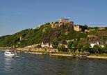 Rhein-Bootstour von Koblenz nach Boppard: Festung Ehrenbreitstein und Koblenz Seilbahn