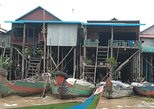 Kampong Khleang ( floating village ), Kralan Sticky Rice and Locale Market Tour