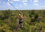 Zipline, ATV and Cenote Jungle Private Tour