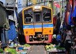 Floating Market Damnoen Saduak and Meklong Railway Market - Half Day Tour