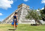 Chichen Itza, Cenote Ik Kil, and Coba Ruins Day Trip