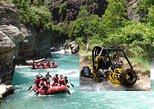 2-in-1: Buggy-Safari und Rafting-Abenteuer von Alanya