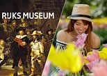 Amsterdam Super Saver: Rijksmuseum and Keukenhof Gardens and Tulips Fields Tour