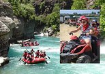 2 in 1: Quad Safari & Rafting Adventure from Alanya