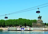 Rhine River Cruise from Koblenz to St. Goare: Loreley Rock, Ehrenbreitstein Fortress and Koblenz Cable Car