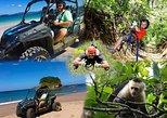 BEACH-MOUNTAIN & ZIP-LINE BUGGY TOUR