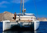 Private Santorini Sunset Cruise with Food,Drinks and Transport