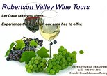 Private Day Tour includes tastings at at least 4 top rated local wine estates