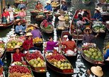Damnoen Saduak Floating Market and Bridge on The River Kwai Tour from Bangkok