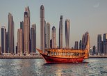 Dubai Marina Sightseeing Dhow Cruise Dinner