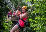 Central America - Belize: Private Cave Tubing and Zipline Adventure from Belize City