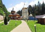 Private Manyavsky Monastery and Maniava Falls from Yaremche