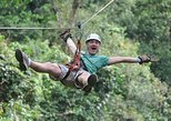 Zipline Canopy Tour & Tortuguero Canal Cruise Shore Excursion from Limon