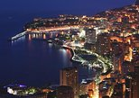 Monaco by night from Nice
