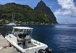 St Lucia Private Speedboat Soufriere Tour, Mud Bath, Beach Time