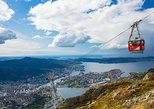 Bergen Classic. Hiking from Mount Ulriken to Mt Floyen. Vidden trail.