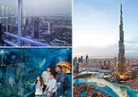 At The Top Burj Khalifa & Dubai Aquarium and Underwater Zoo Combo Tickets