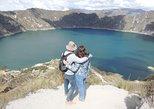 Excursión privada al lago en cráter Quilotoa y al mercado indígena. Quito, ECUADOR