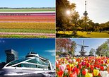 Super Combo: Guided Keukenhof tour, Harbour Cruise Rotterdam & visit Euromast