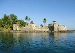 Livingstone Cultural, Castillo de San Felipe, Agua Caliente from Livingstone.