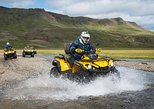 1-Hour ATV Adventure and Whale Watching Combination Tour from Reykjavik