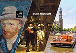 Dutch Masters & Marvels - Guided Van Gogh & Rijksmuseum Tour incl Cruise & Lunch