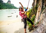 Half Day Rock Climbing Tour Railay Beach, Krabi