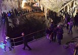 Adventure of underground world Postojna Cave and magical Castle from Ljubljana